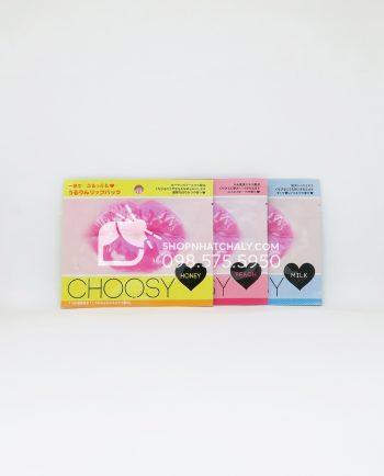 Mặt nạ dưỡng môi hồng Choosy Lip Pack Nhật Bản