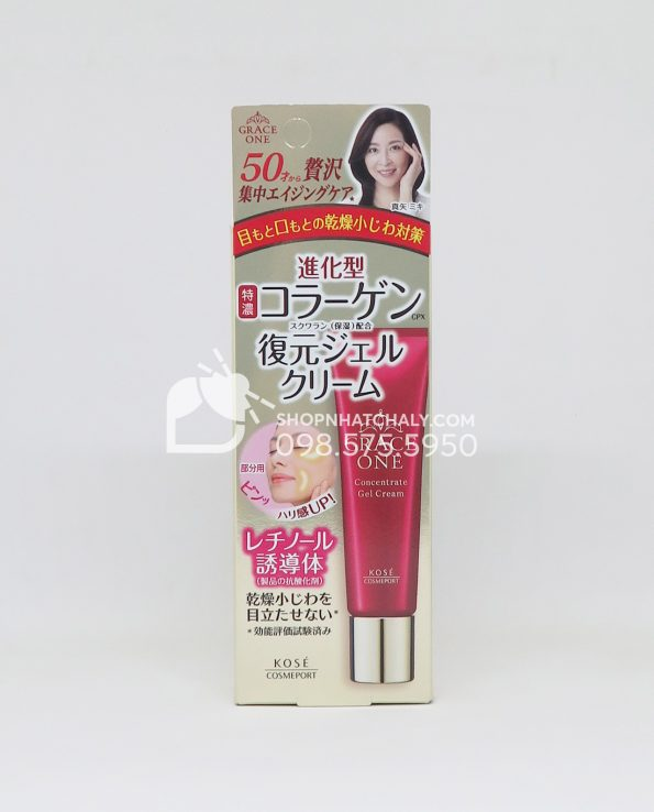 Serum tái tạo da tuổi trung niên Kose Grace One Retinol Concentrate Nhật Bản