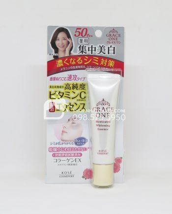 serum-tri-nam-tuoi-trung-nien-kose-grace-one-medicated-whitening-essence-nhat-ban