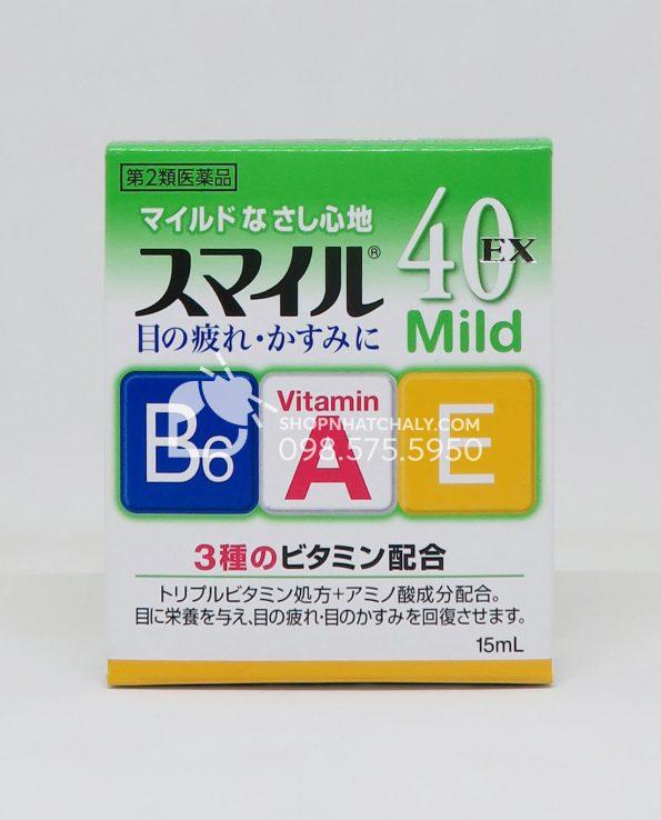 Thuốc nhỏ mắt Smile 40 EX Mild Nhật Bản