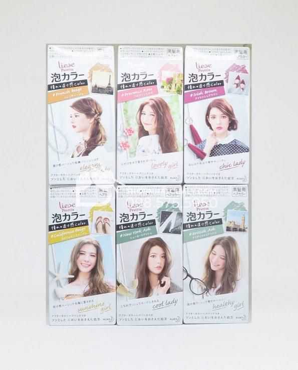 Thuốc nhuộm tóc dạng bọt Kao Liese Prettia Nhật
