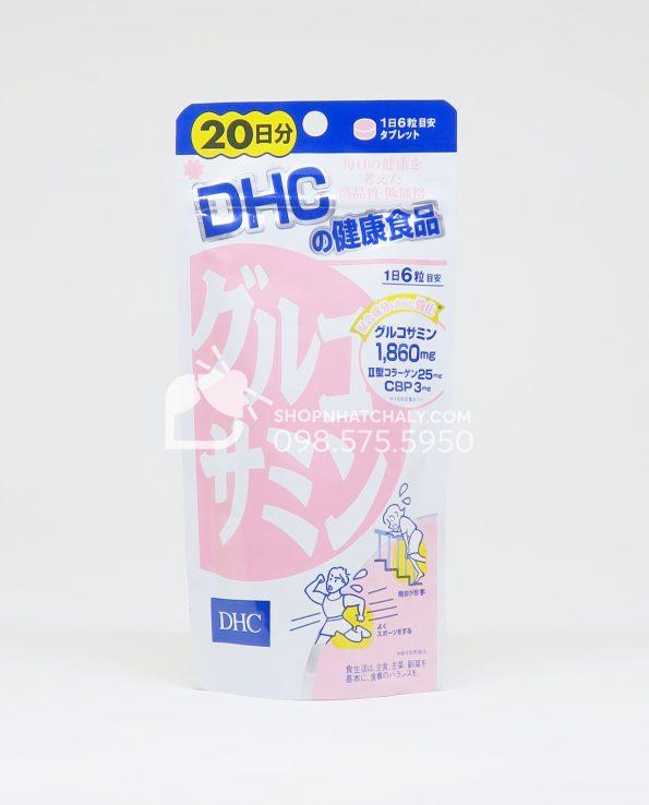 Viên uống bổ khớp Glucosamine DHC Nhật