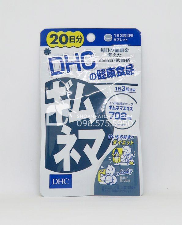 Viên uống cân bằng đường huyết DHC Gymnema Nhật