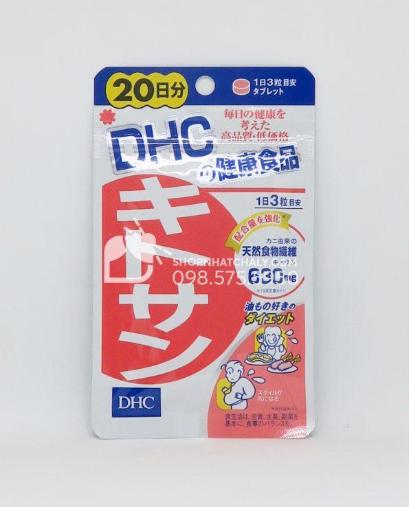 Viên uống giảm mỡ bụng DHC Chitosan Nhật