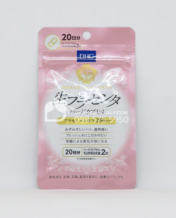 Viên uống nhau thai tươi DHC Fresh Placenta 40 viên