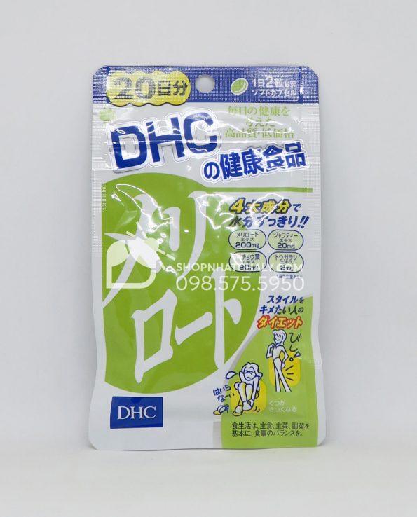 Viên uống thon gọn đùi DHC Melilot Nhật Bản