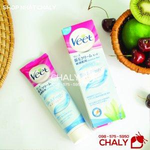 Kem tẩy lông Veet Nhật Bản được thiết kế riêng cho da nhạy cảm. Tuýp 105g