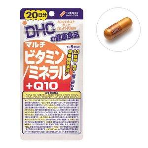 Viên Vitamin - Khoáng - Q10 tổng hợp của DHC bồi bổ sức khoẻ người lớn tuổi