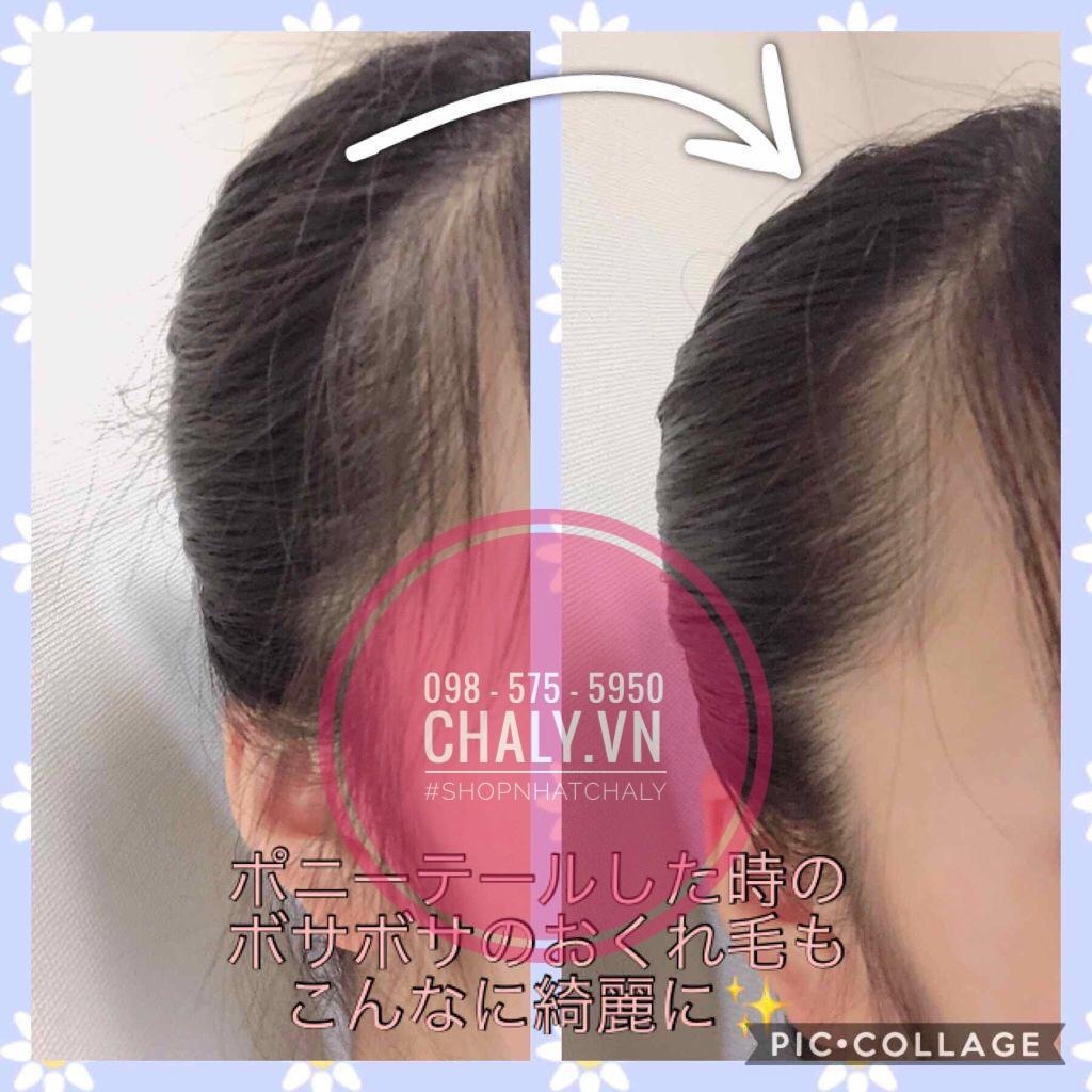 Sáp tạo kiểu tóc cho nữ của Utena Nhật giúp tóc con, tóc chĩa vào nếp chỉ trong chưa tới 10 giây rất dễ dàng