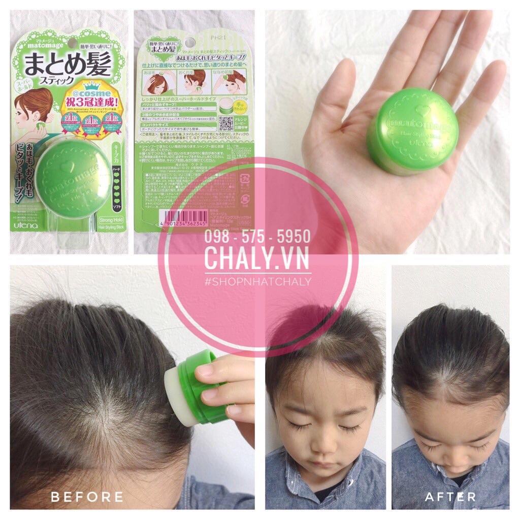 Dùng các loại gel giữ nếp tóc cho con gái thì không yên tâm, nhưng sáp vuốt tóc nhật bản thì mình không phải lo lắng gì cả