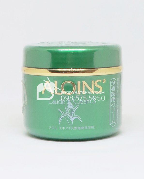 Kem dưỡng da lô hội xanh Aloins Eaude Cream Nhật Bản