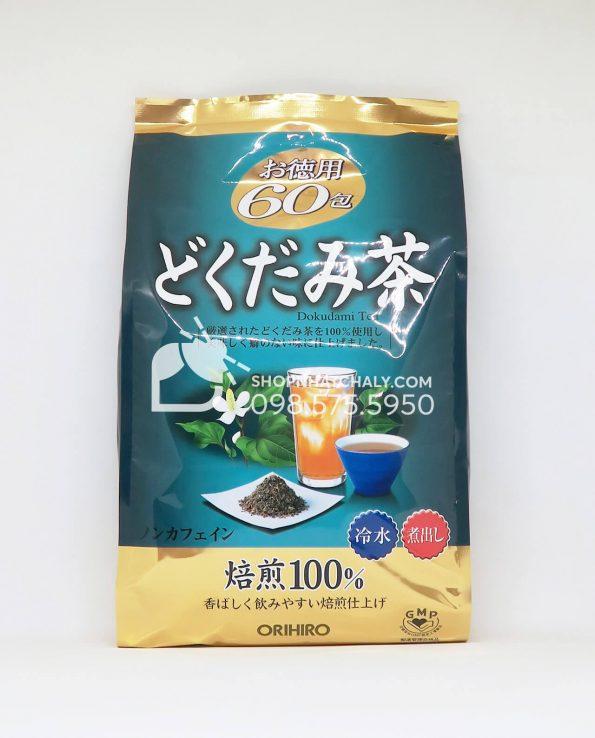 Trà rau diếp cá thải độc Orihiro Dokudami Nhật Bản