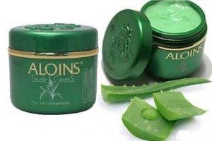 Kem lô hội Aloins Eau de Cream chiết xuất chủ yếu từ nha đam