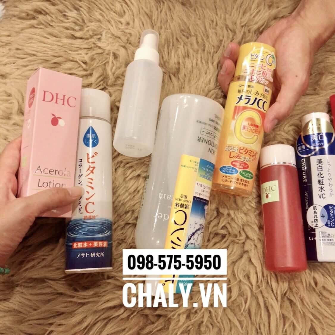Nước hoa hồng sơ ri DHC Acerola Lotion thường xuyên là lựa chọn dưỡng da của cô gái Nhật Bản