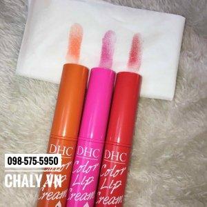 3 tông màu của DHC Color Lip Cream đều rất dễ thương