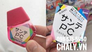 Nhỏ mắt Sante PC được chuộng tại Nhật, hầu hết drugstore lớn đều có