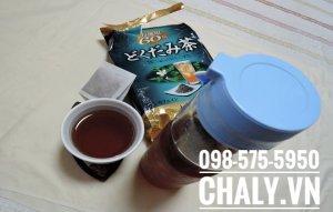 Uống trà diếp cá trị mụn của Nhật là thói quen yêu thích của mình mỗi ngày, vì từ khi uống thì tình trạng mụn của mình giảm hẳn, rất thích