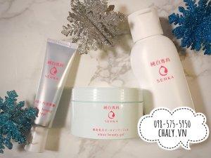 Gel dưỡng thường được dùng cùng tuýp serum dưỡng trắng Shiseido