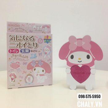 Khử mùi Hello Kitty có thiết kế siêu dễ thương. Mùi hương nhẹ nhàng hiệu quả cao