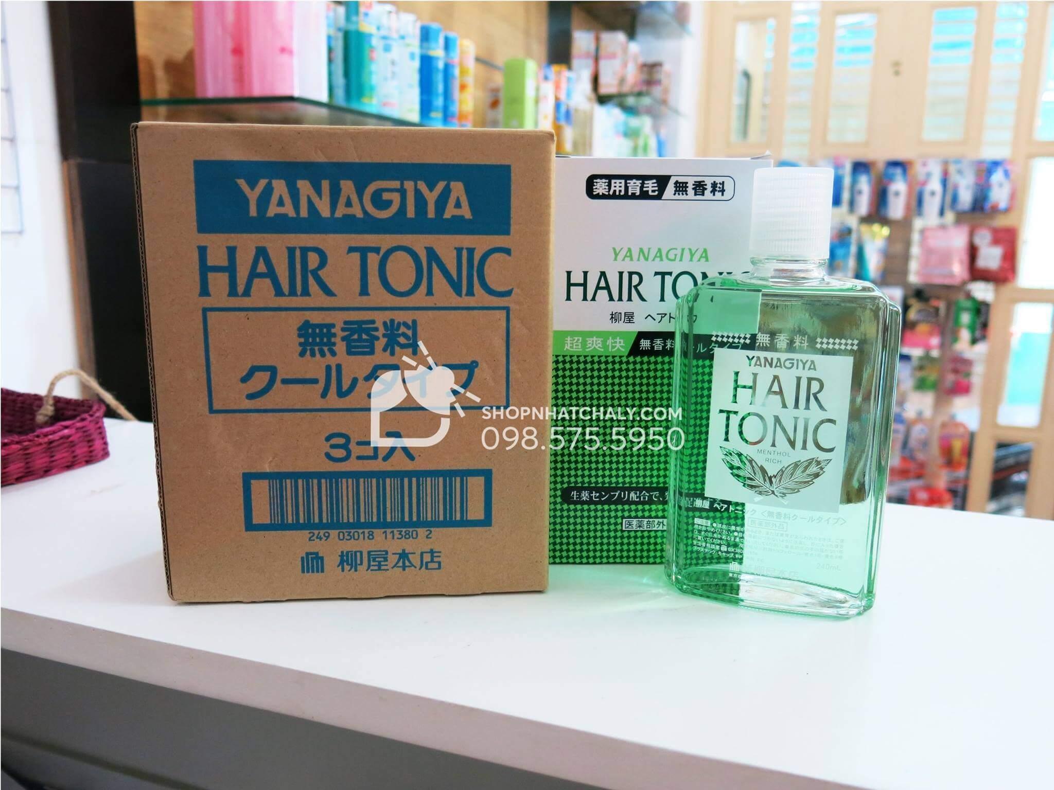 Thuốc mọc tóc Nhật Bản không hương liệu, cho da đầu nhạy cảm (xanh nhạt)