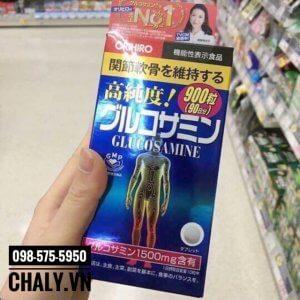 Viên Glucosamine 1500mg Orihiro xách tay từ Nhật bởi shop Chaly