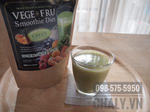 Review bột sinh tố giảm cân nhật bản vege fru: Giảm cân xác thực, trung bình 2-3kg mỗi tháng là bình thường nếu thực hiện nghiêm chỉnh