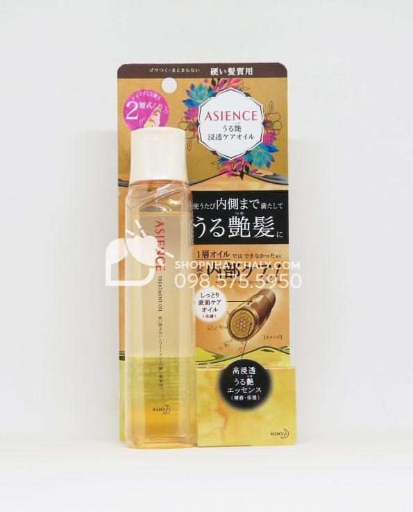 Dầu dưỡng tóc dành cho tóc hư tổn Asience Treatment Hair Oil Nhật Bản