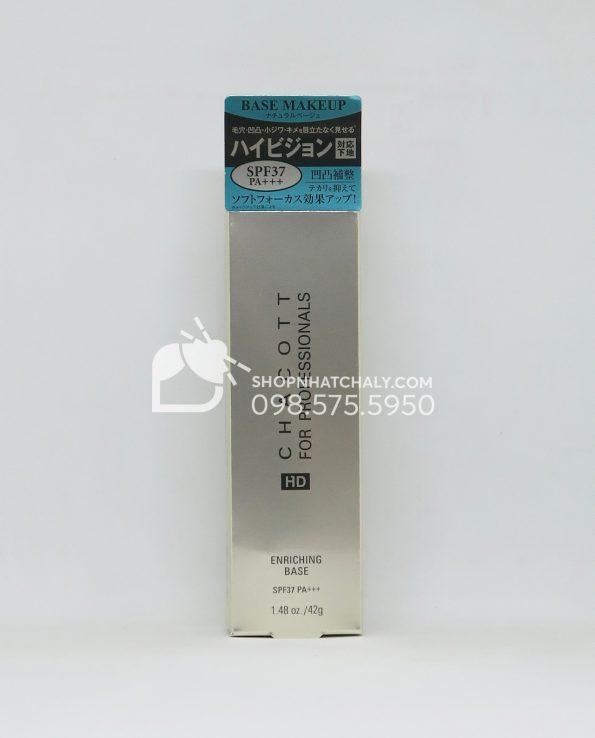 Kem lót trang điểm Chacott for Professional HD Enriching Base SPF37 Nhật Bản