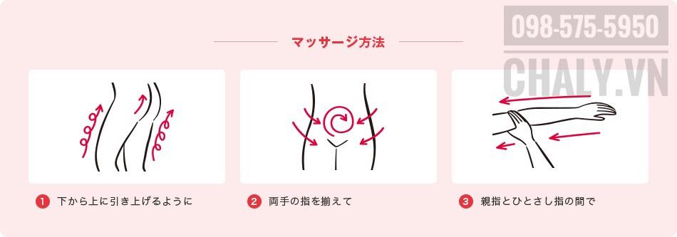 Minh hoạ cách sử dụng muối tắm của Nhật Bản
