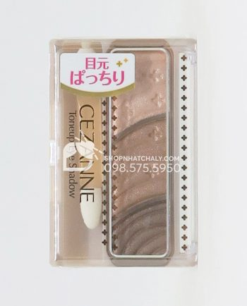 Phấn mắt Cezanne Tone Up Eye Shadow 01 Natural Brown