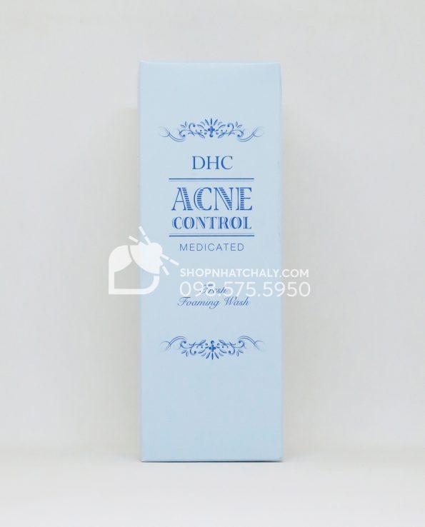 Sữa rửa mặt trị mụn DHC Medicated Acne Control Fresh Foaming Wash