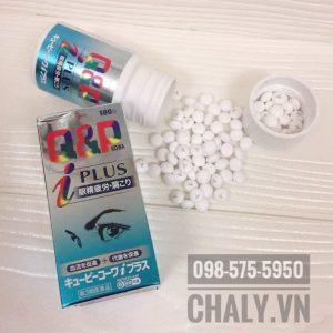 Thuốc bổ mắt Nhật Bản q&p kowa dạng viên nhỏ dễ uống, chứa đủ thành phần tốt cho mắt cận thị, mắt suy nhược