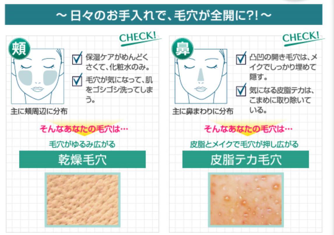 2 nguyên nhân chính gây tình trạng lỗ chân lông to. Kem dưỡng da gạo Keana của Nhật trị lỗ chân lông to ở tình huống bên trái là chủ yếu