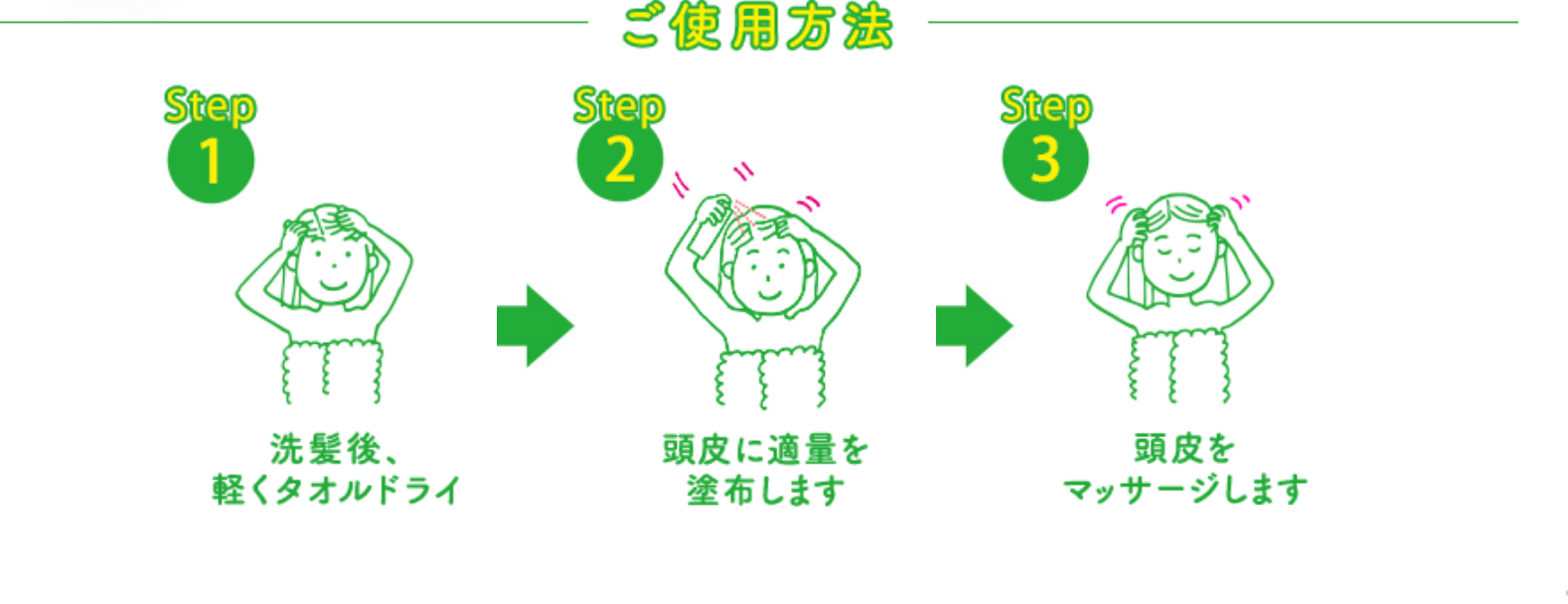Cách dùng xịt mọc tóc Molty Lotion