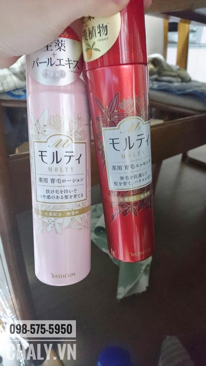 Phụ nữ Nhật thường kết hợp chai Molty đỏ và hồng để tiết kiệm chi phí và tối đa hoá hiệu quả