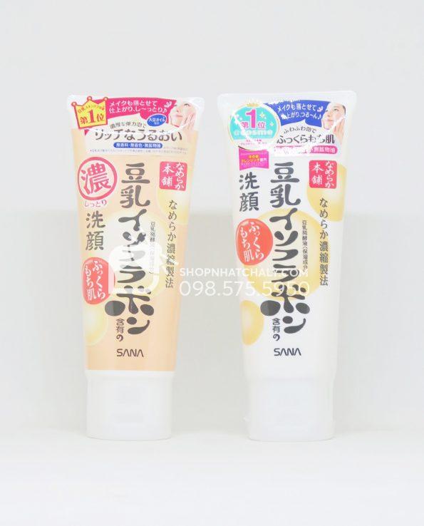 Sữa rửa mặt mầm đậu nành Sana Nameraka Isoflavone Cleansing Foam