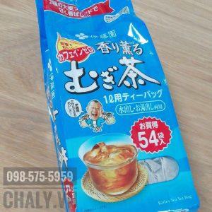 Cách pha trà lúa mạch Nhật Bản siêu đơn giản, mỗi ngày 1 gói cho vào 2 lít nước pha ra uống cả ngày. Thay nước lọc cực kỳ bổ