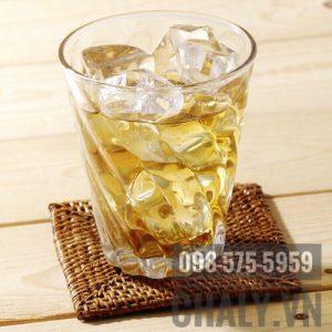Trà mugi Nhật Bản ông già có thể pha ra ly uống nóng hoặc đá đều ngon