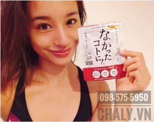 Một bạn gái Nhật review viên giảm cân ngày Nakatta Kotoni 120 viên màu đỏ
