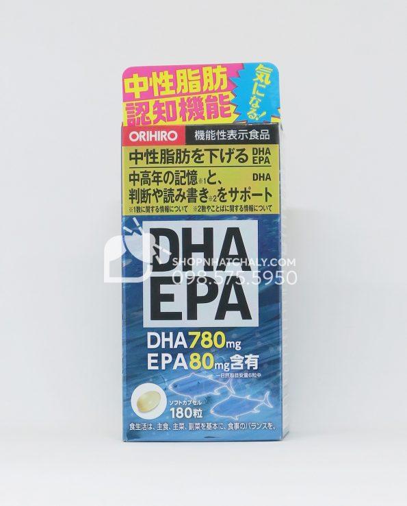 Viên uống bổ não DHA và EPA Orihiro Nhật Bản