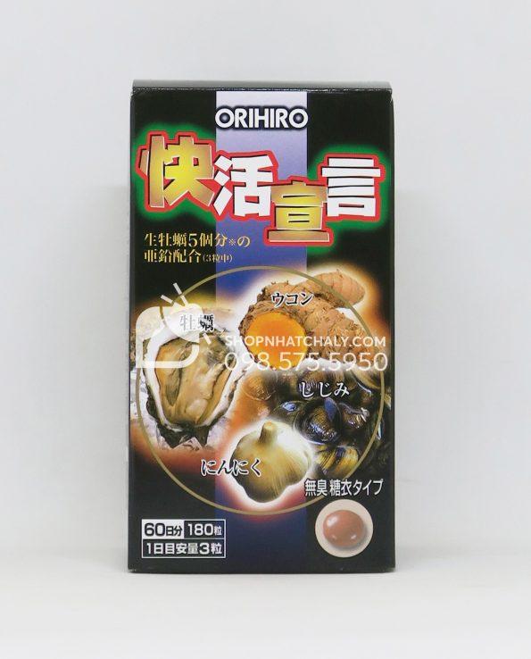 Viên uống tinh chất hàu nghệ tỏi Orihiro Nhật Bản