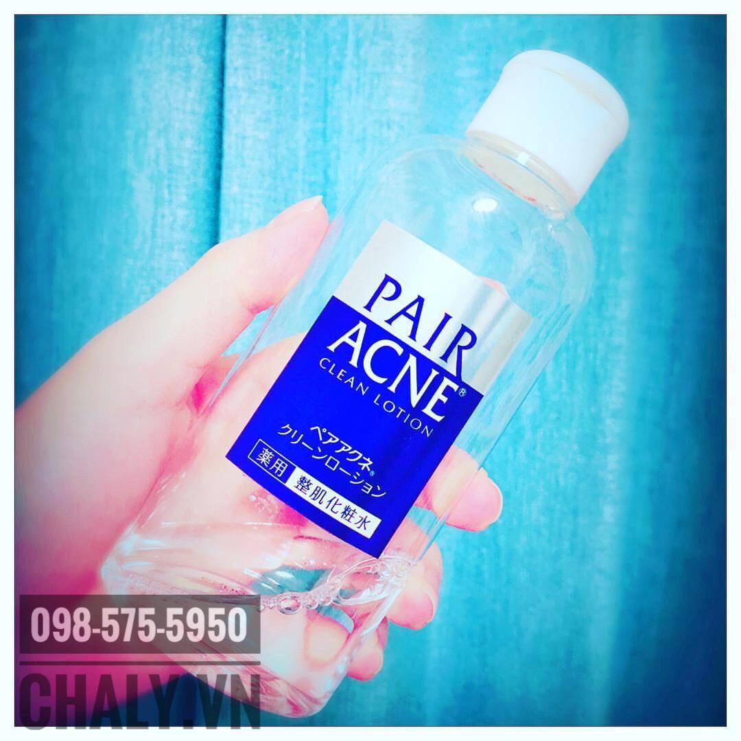 Toner Pair là chai nước hoa hồng trị mụn nhật review cao, được tin chọn đặc biệt với da mụn ẩn, mụn cám