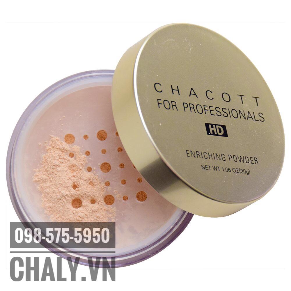 Phấn nền trang điểm Chacott for Professionals Enriching Powder với hơn 1000 đánh giá trên Cosme và luôn lọt top phấn nền tốt nhất Nhật Bản