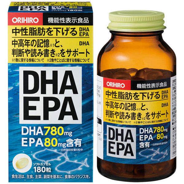 Thuốc DHA của Nhật bổ sung đồng đều cả DHA & EPA của Nhật rất tốt cho não bộ