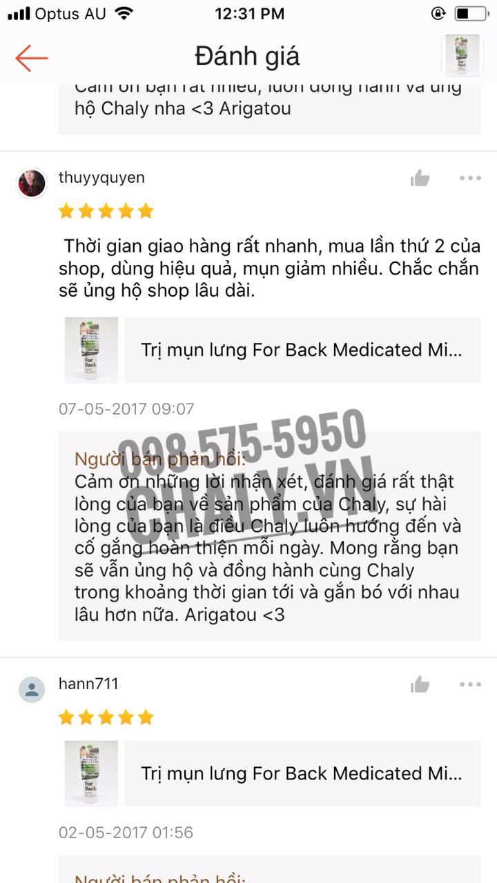 Xà phòng for back mua ở đâu? Có thể mua tại Shop Nhật Chaly để chắc chắn có trong tay sản phẩm xà phòng for back chính hãng