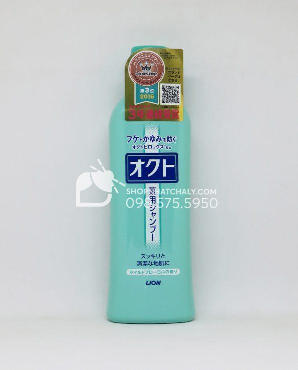Dầu gội trị gàu và nấm da đầu Lion Okuto Nhật