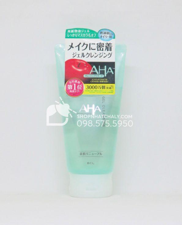 Gel tẩy trang rửa mặt AHA Gel Cleansing của Nhật