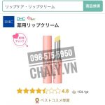 Son tri tham lam hong moi DHC Medicated Lip Cream 01