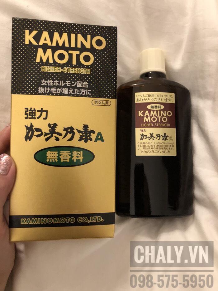 Thuốc mọc tóc kaminomoto review cực cao bởi bạn mình nên mình quyết định mua về thử. Và mình không thất vọng