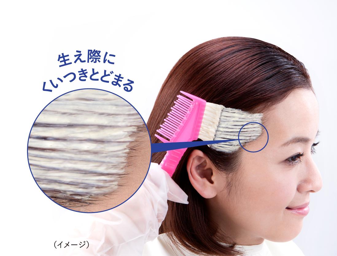 Hoyu Bigen thuốc nhuộm tóc phủ bạc flavored hair color sử dụng dễ dàng một mình tại nhà